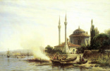 The Golden horn in Constantinople