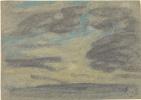 Эжен Буден. Облака над морем