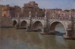 Bridge of Angels. Rome