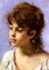 Портрет крестьянской девушки