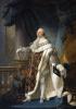 Людовик XVI, король Франции и Наварры, в коронационном одеянии, 1779