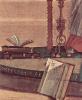 Цикл картин капеллы Скуола ди Сан Джорджио Счиавони. Сцена видения св. Августина. Деталь