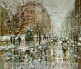Зимний день на улице Петербурга