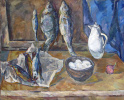 Still life with fish and eggs