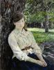 Девушка, освещенная солнцем. Портрет М. Я. Симонович