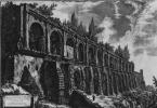 Вид с руинами виллы Мецената в Тиволи