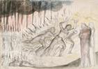 """Уильям Блейк. Богохульники, ростовщики и содомиты. Иллюстрации к """"Божественной комедии"""""""