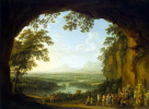 Пейзаж со сценой античного празднества