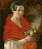 Портрет неизвестной с корзиной в руках