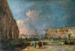 Франческо Гварди. Вид возле Венеции