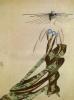 Эскиз костюма Королевы Марса к фильму «Аэлита» по роману Алексея Толстого