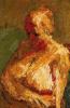 Nude half-length portrait of E. O. W. (Estella olive West)