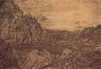 Херкюлес Питерс Сегерс. Горная долина со сломанной сосной