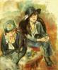 Портрет жены художника с подругой