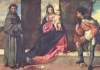 Мадонна со свв. Антонием Падуанским и Рохом