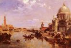 Эдвард Причетт. Вид на церковь Сан-Джорджо  и Гранд-канал