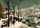 """Охотники на снегу. Цикл """"Сезоны"""", январь"""