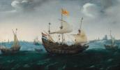 Флотилия в море