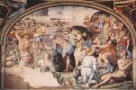 Аньоло Бронзино. Переход израильтян через Красное море. Фрески Палаццо Веккьо