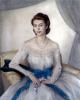 Портрет принцессы Елизаветы. (Сейчас королева Великобритании).