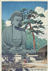 The Great Buddha in Kamakura. 39.5 x 27