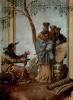 Фрески из виллы Вальмарана в Виченце. Китайский принц у предсказателя