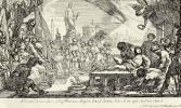 Клод Виньон. Мученичество святого Лаврентия