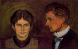 Edvard Munch. Aase and Harald, Nordigard