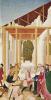Алтарь св. Леопольда, боковая створка: постройка монастырской церкви