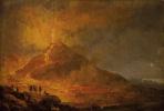 Пьер-Жак Волер. Извержение Везувия в 1779 году.