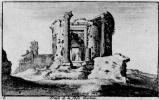 Венцель Холлар. Храм Сивиллы в Тиволи