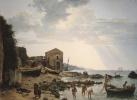 Малая гавань в Сорренто с видом на острова Искья и Прочидо