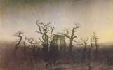 Caspar David Friedrich. Abbey in the oak grove