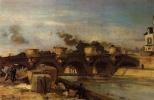 Ян Бартолд Йонгкинд. Мост через реку