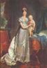 Портрет Марии Луизы с римским королем