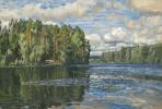 Станислав Юлианович Жуковский. Озеро Молдино