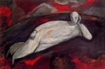 Элберт Блох. Лежащая фигура