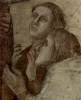 Пробуждение Друзиана Иоанном Евангелистом (фрагмент)