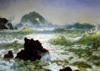 Альберт Бирштадт. Скалы в Калифорнии