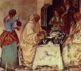 Фрески из бенедиктинского монастыря в Монте Оливето. Сцены из жития св. Бенедикта