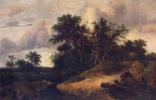 Якоб Исаакс ван Рейсдал. Пейзаж с домом