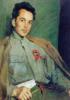 Портрет писателя Д. А. Фурманова