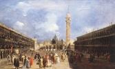 Франческо Гварди. Площадь Сан-Марко в Базилике