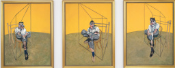 Фрэнсис Бэкон. Три наброска к портрету Люсьена Фрейда. Триптих