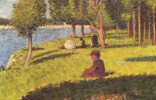 Georges Seurat. Seated figures