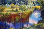 Аркадий Александрович Рылов. Красное отражение