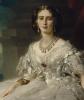 Портрет княгини Татьяны Александровны Юсуповой. Фрагмент