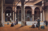 Жан-Леон Жером. Интерьер мечети