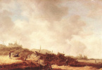 Ян ван Гойен. Пейзаж с дюнами