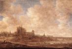 Ян ван Гойен. Вид Лейдена